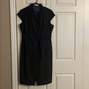 Calvin Klein blue denim dress